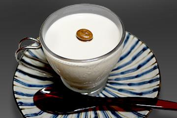 白いコーヒープリン
